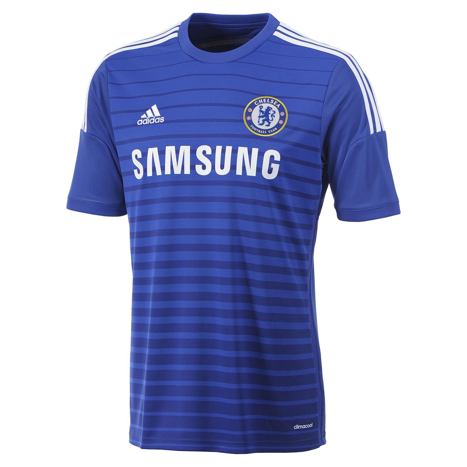 切尔西2014-15赛季球迷版主场球衣