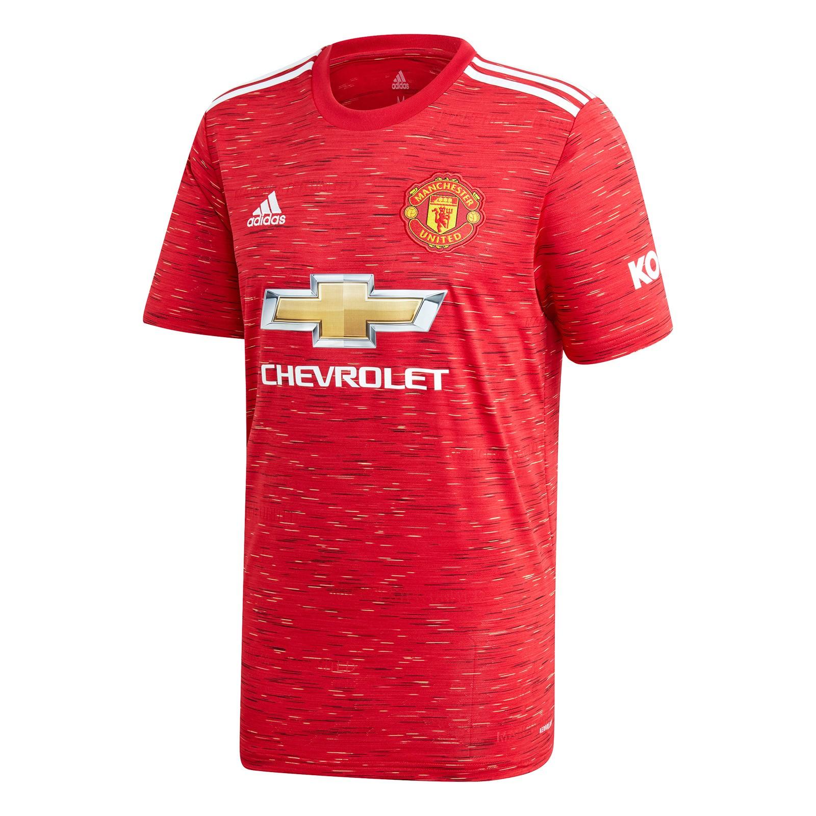 曼彻斯特联2020-21赛季球迷版主场球衣