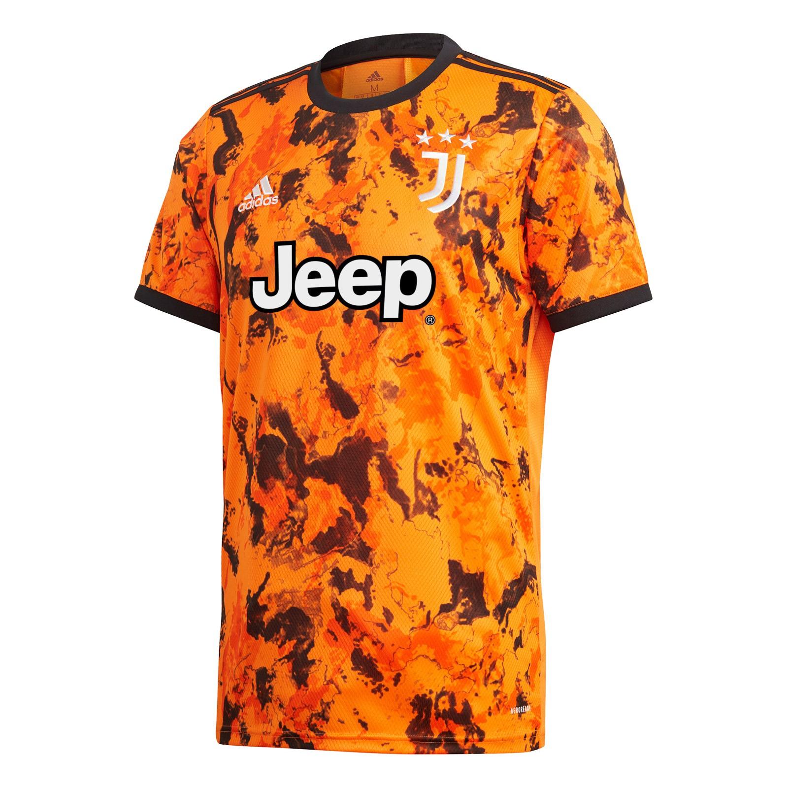 尤文图斯2020-21赛季球迷版第二客场球衣
