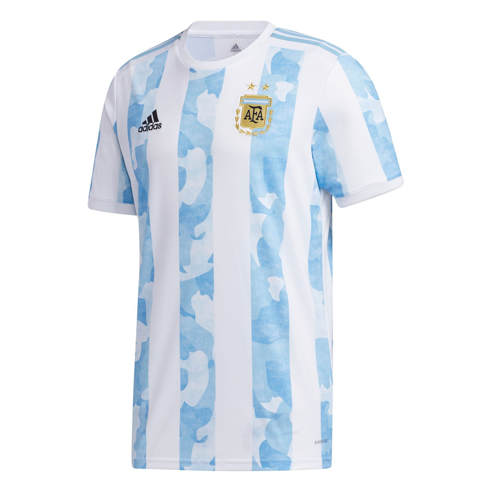 阿根廷国家队2021美洲杯球迷版主场球衣