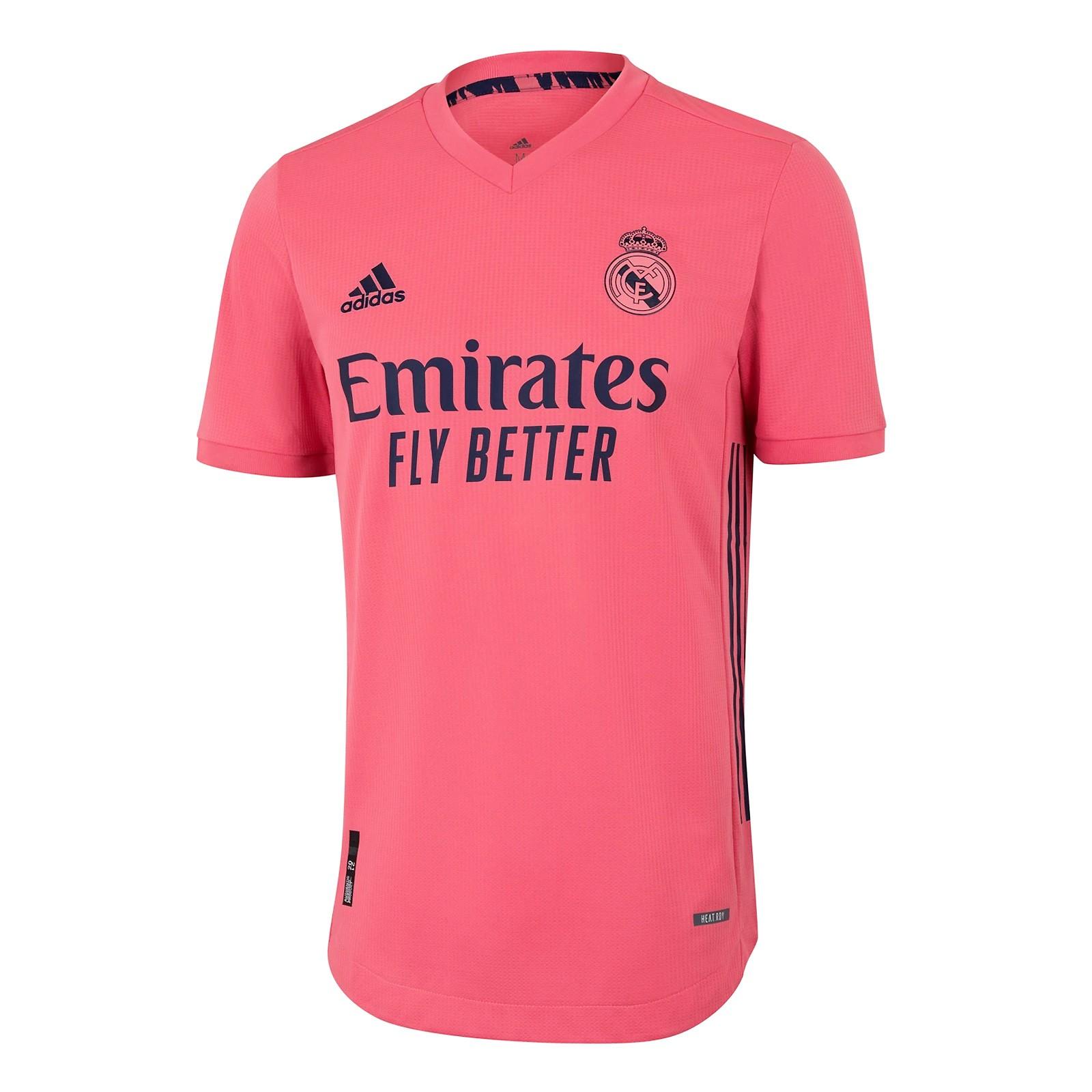 皇家马德里2020-21赛季球员版客场球衣