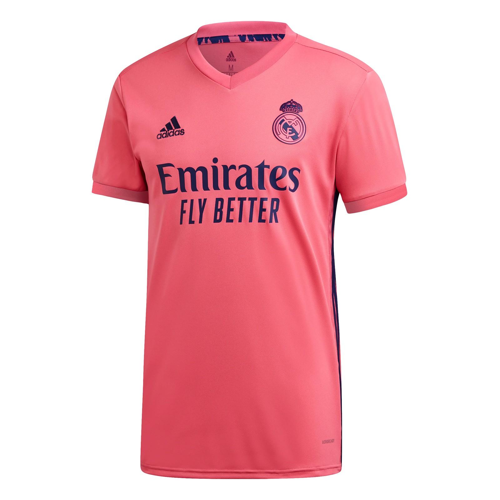 皇家马德里2020-21赛季球迷版客场球衣