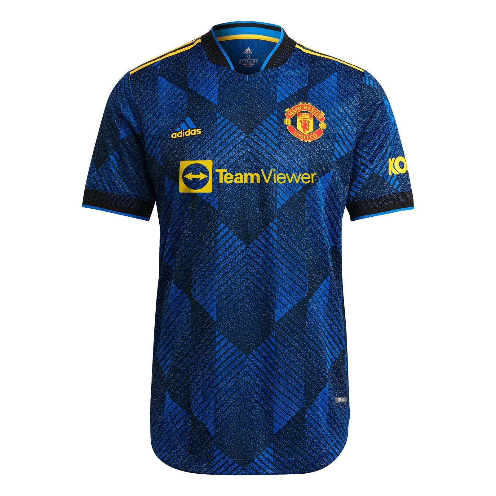 曼彻斯特联2021-22赛季球员版第二客场球衣