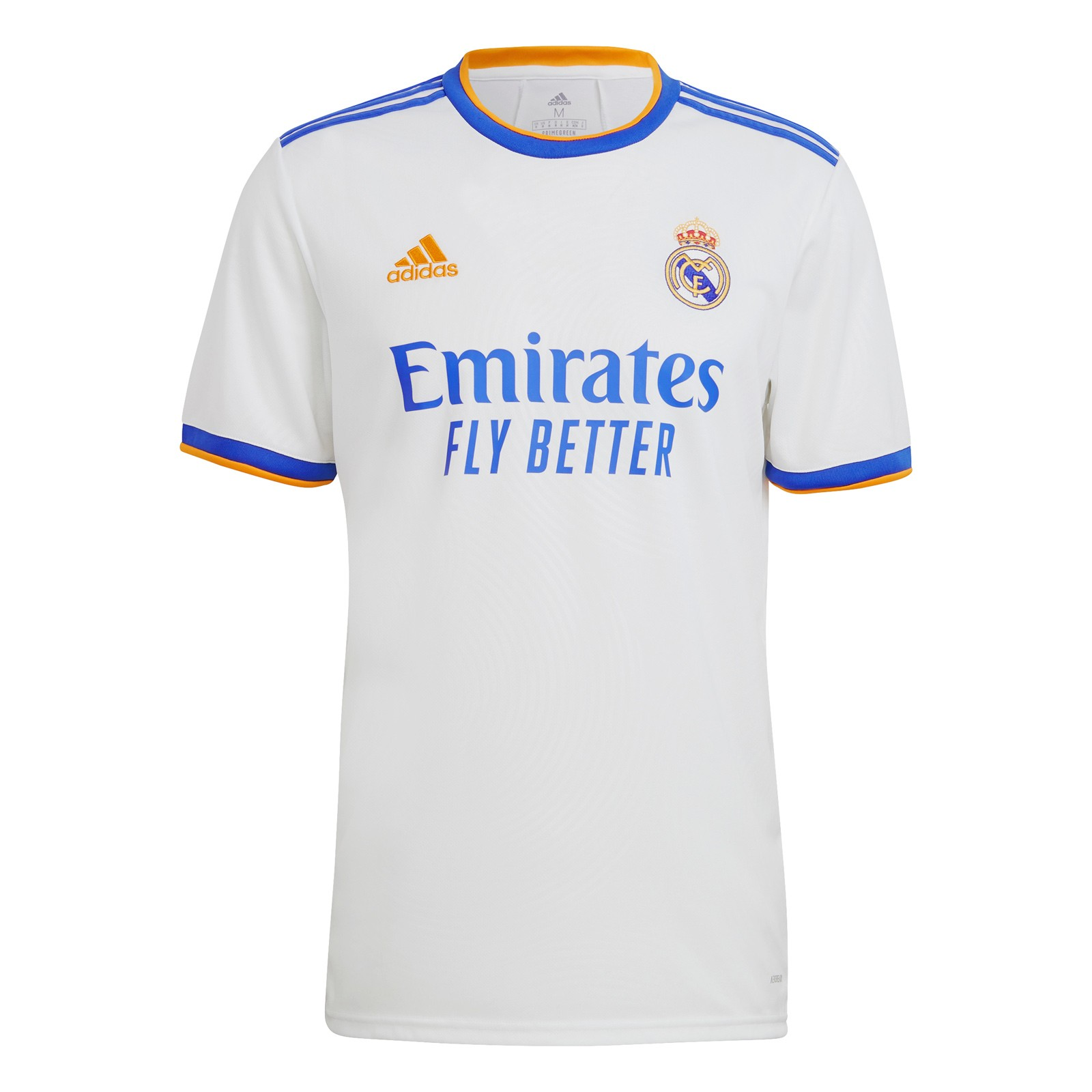 皇家马德里2021-22赛季球迷版主场球衣