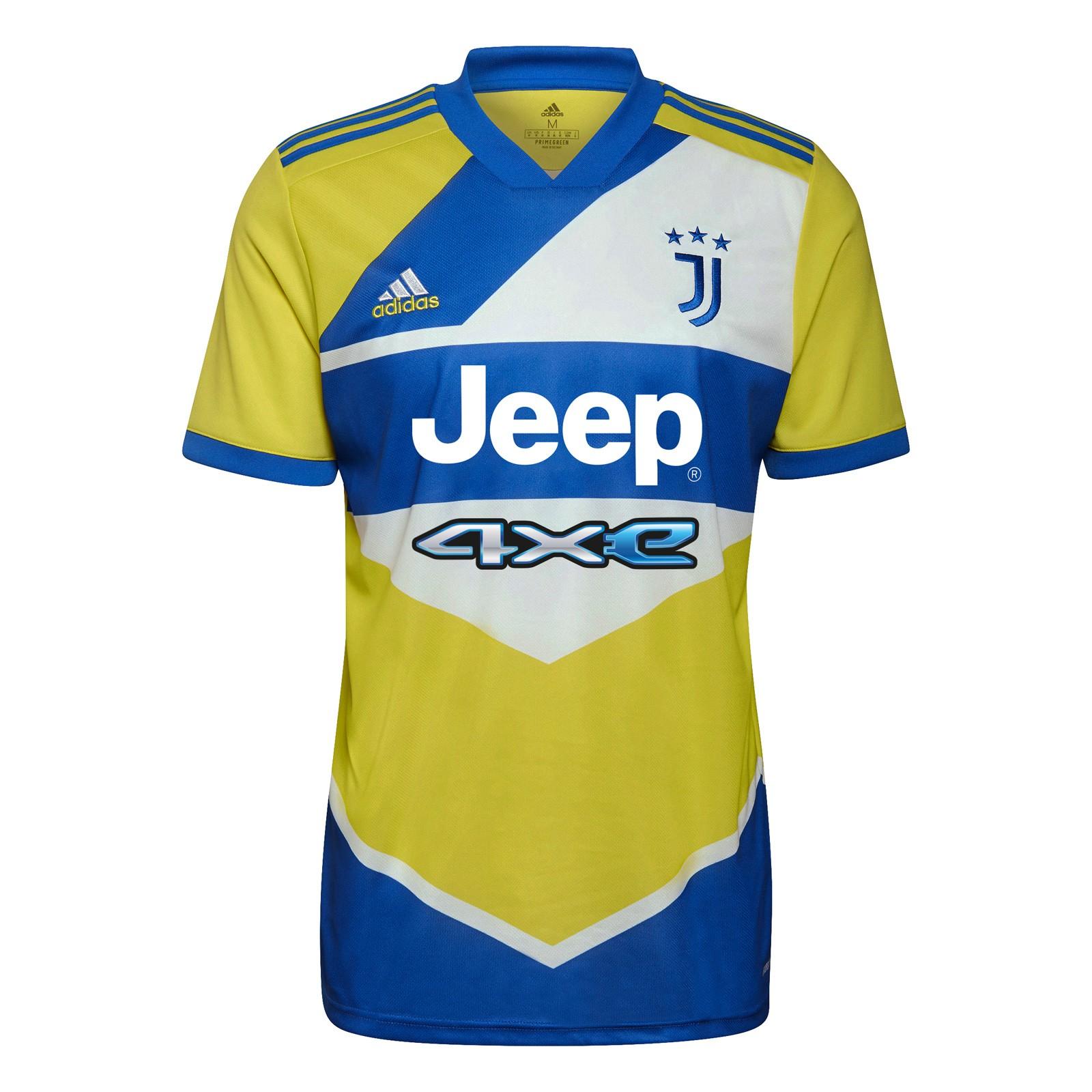 尤文图斯2021-22赛季球迷版第二客场球衣