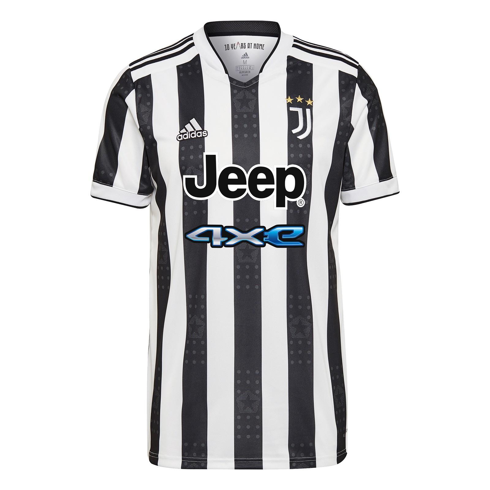 尤文图斯2021-22赛季球迷版主场球衣