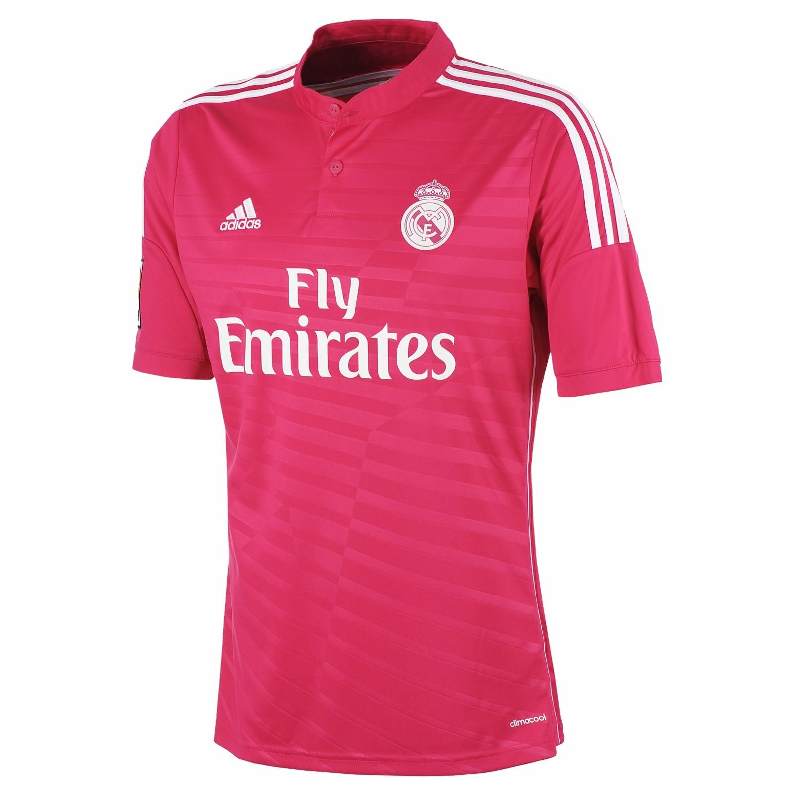 皇家马德里2014-15赛季球迷版客场球衣