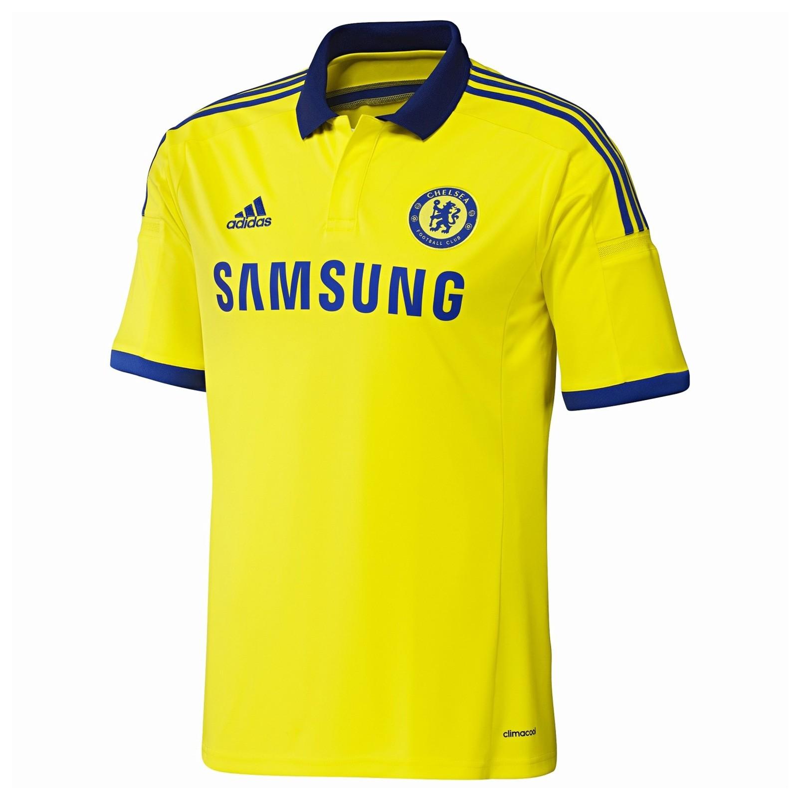 切尔西2014-15赛季球迷版客场球衣