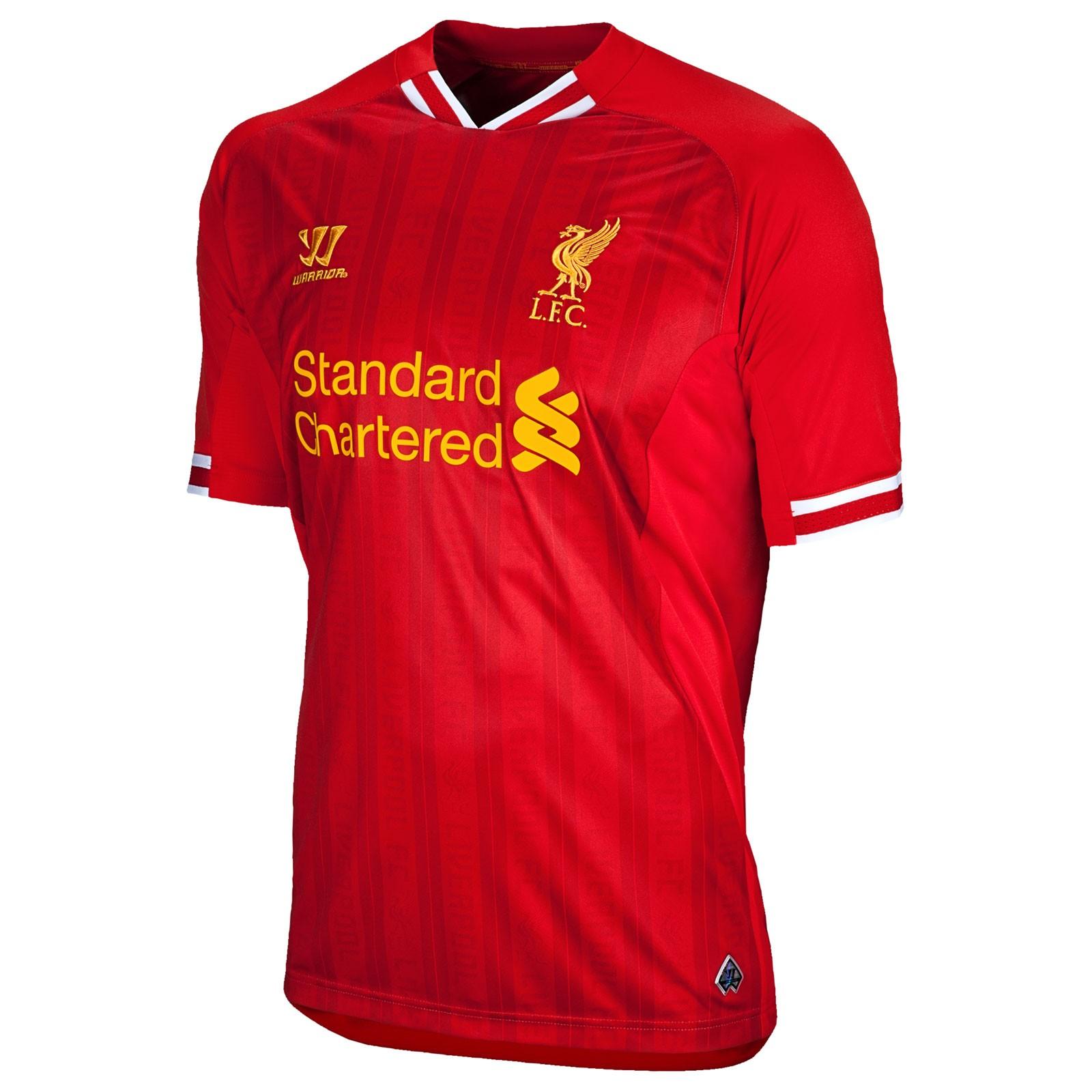 利物浦2013/14赛季主场球衣