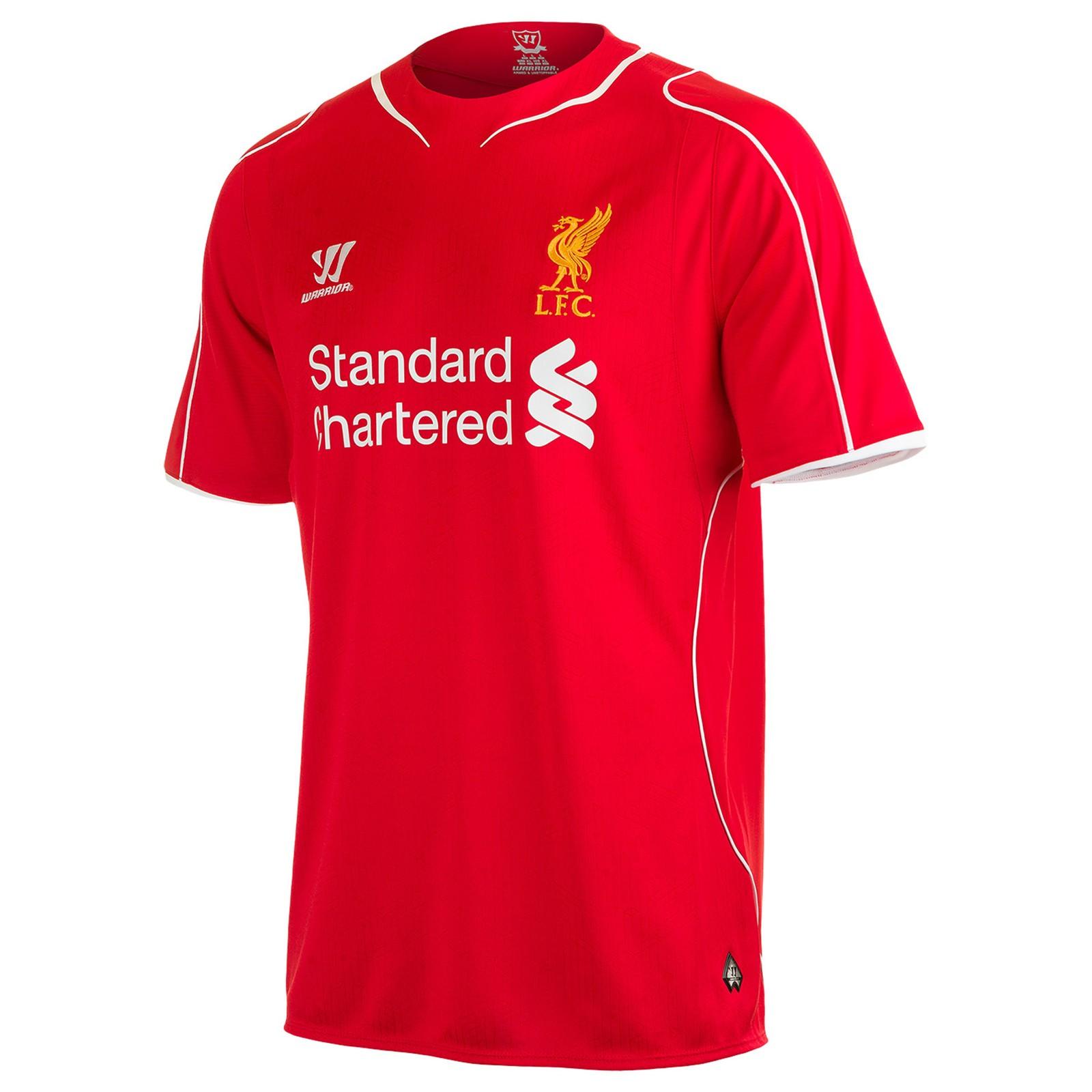 利物浦2014-15赛季主场球衣