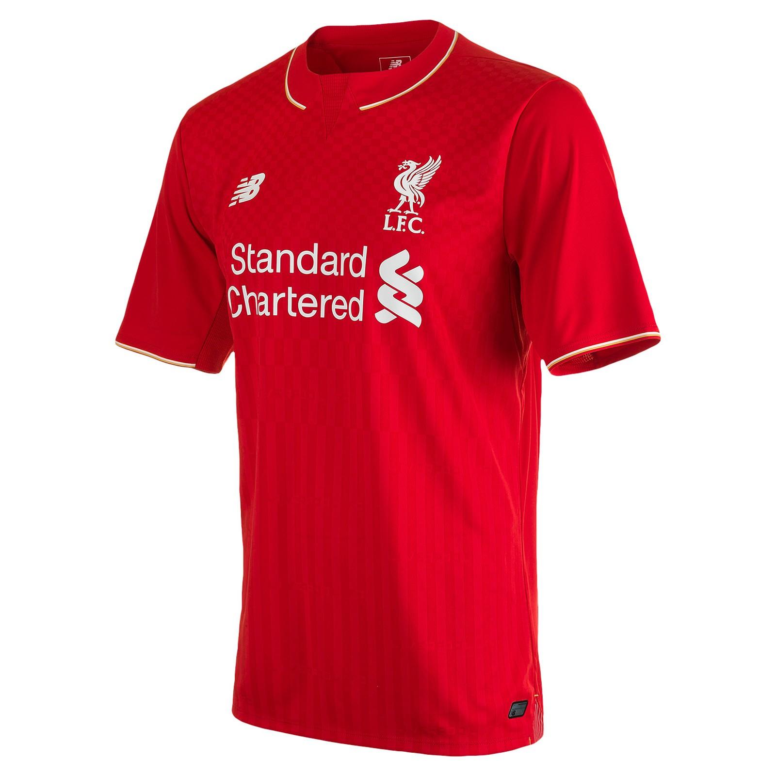 利物浦2015-16赛季主场球衣