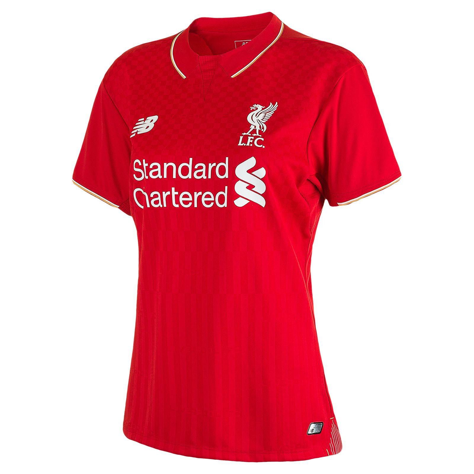 利物浦2015-16赛季女版主场球衣