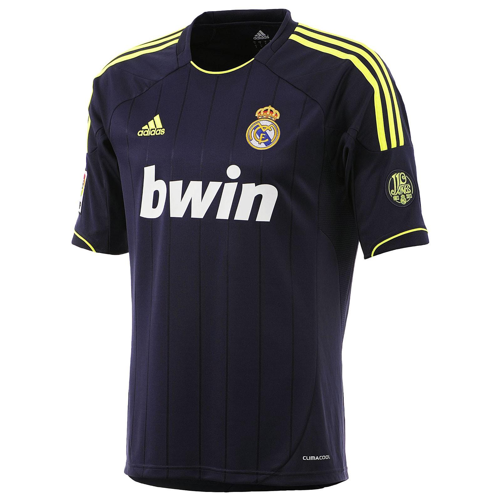 皇家马德里2012/13赛季球迷版客场球衣