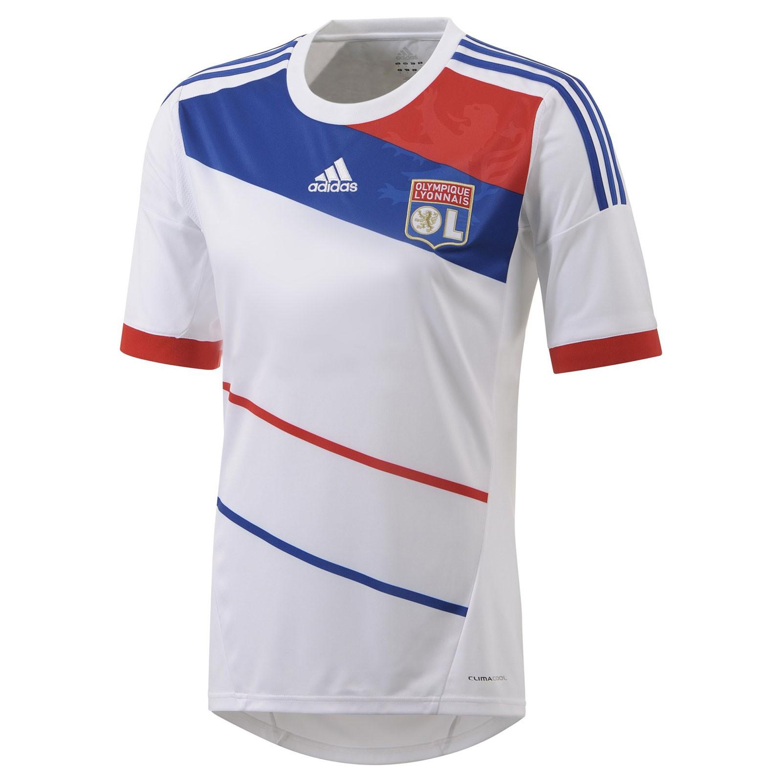 里昂2012/13赛季球迷版主场球衣