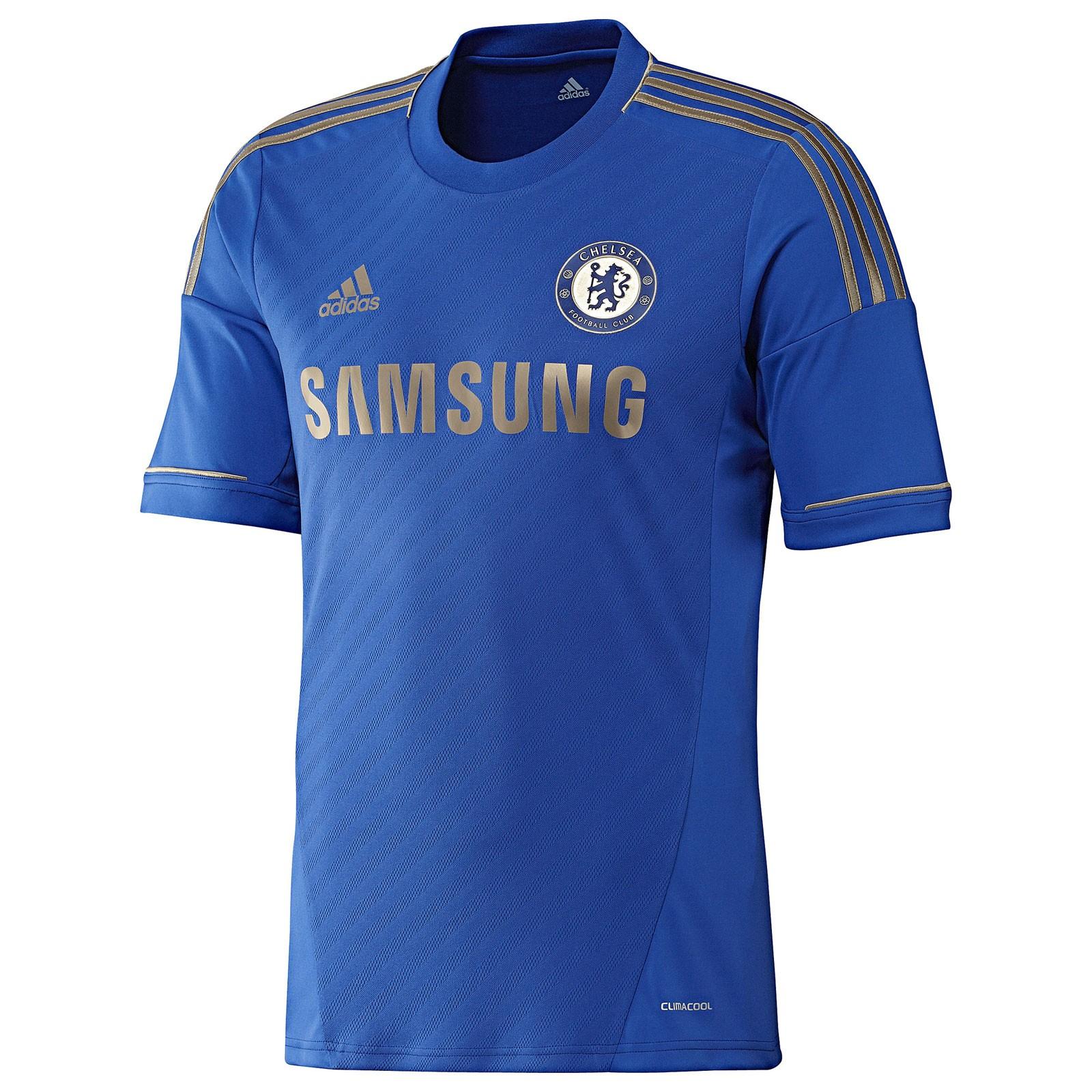 切尔西2012/13赛季球迷版主场球衣