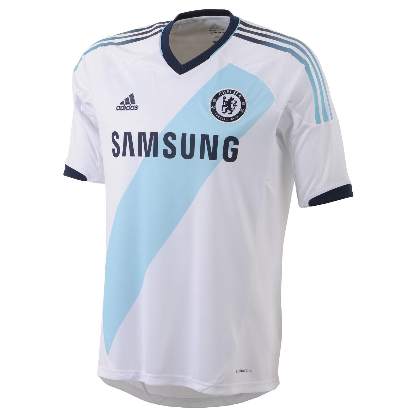 切尔西2012/13赛季球迷版客场球衣