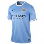 曼彻斯特城2013-14赛季球迷版主场球衣