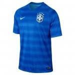 巴西国家队2014世界杯球迷版客场球衣