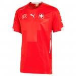 瑞士国家队2014世界杯球迷版主场球衣