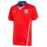 智利国家队2014世界杯球迷版主场球衣