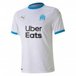 马赛2020-21赛季球迷版主场球衣