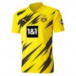 多特蒙德2020-21赛季球迷版主场球衣