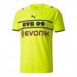 多特蒙德2021-22赛季球迷版杯赛球衣