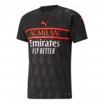 AC米兰2021-22赛季球迷版第二客场球衣