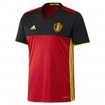 比利时国家队2016欧洲杯球迷版主场球衣