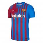 巴塞罗那2021-22赛季球员版主场球衣