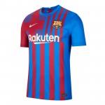 巴塞罗那2021-22赛季球迷版主场球衣