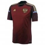 俄罗斯国家队2014世界杯球迷版主场球衣