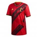 比利时国家队2020欧洲杯球迷版主场球衣