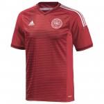 丹麦国家队2014赛季球迷版主场球衣