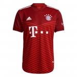 拜仁慕尼黑2021-22赛季球员版主场球衣