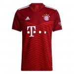 拜仁慕尼黑2021-22赛季球迷版主场球衣