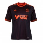 马赛2012/13赛季球迷版第二客场球衣