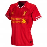 利物浦2013/14赛季女版主场球衣